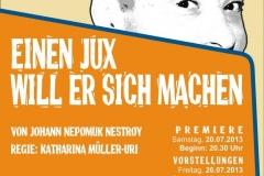 2013 - Einen Jux will er sich machen